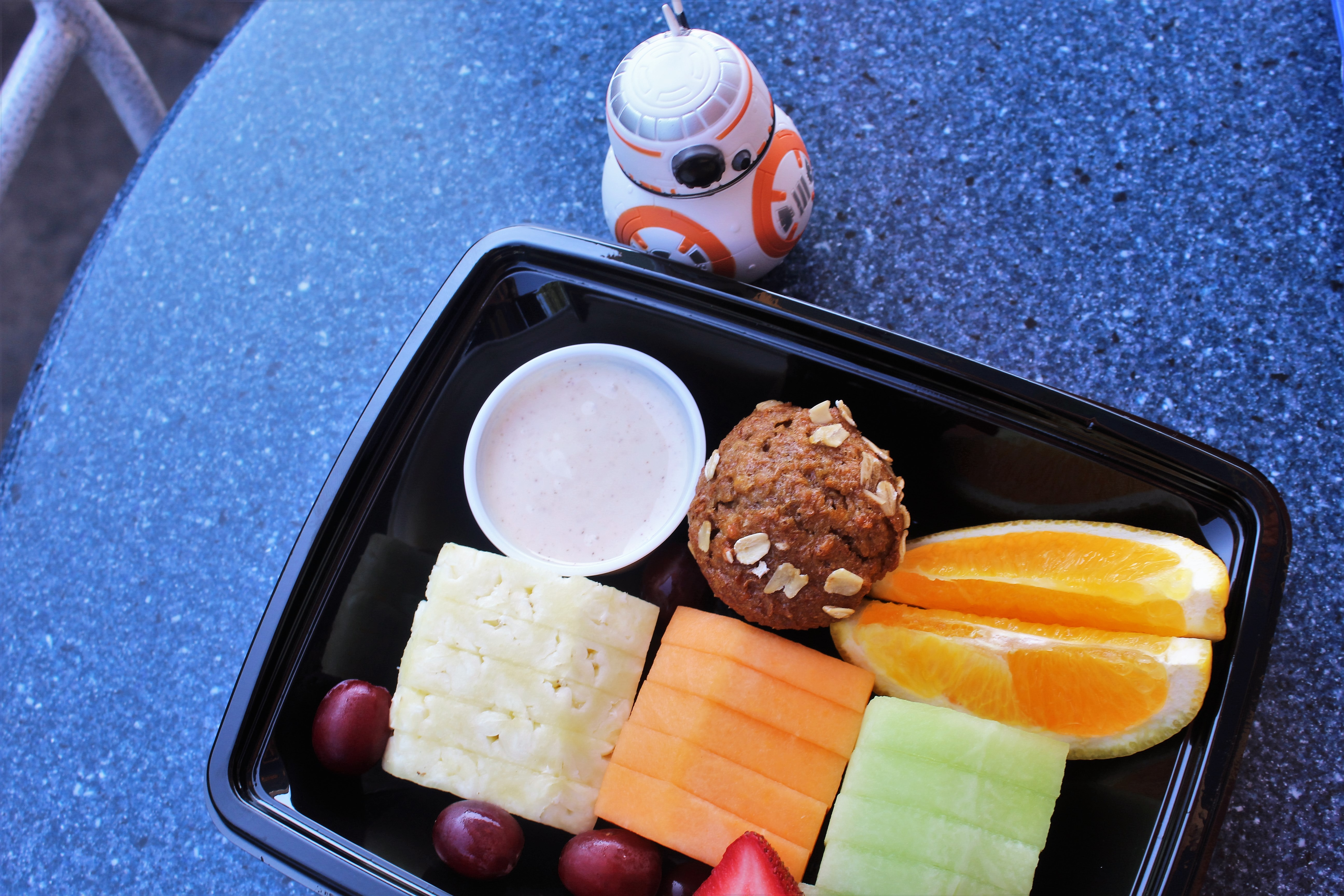 Healthy Eating at Disneyland: Galactic Grill