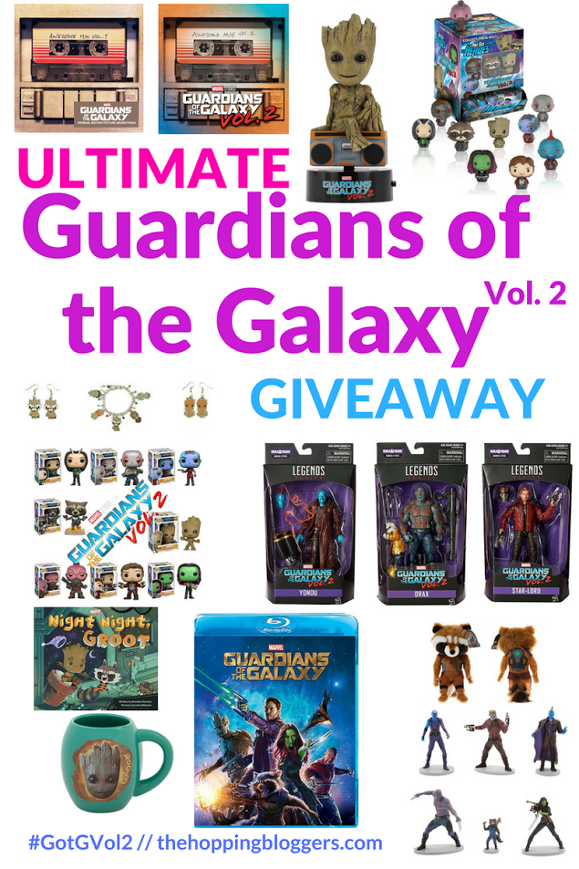 Guardians of the Galaxy Volume II Ultimate Giveaway Prize Pack!