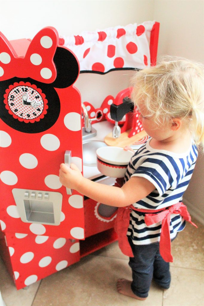 The Play Kitchen Every Minnie Mouse Fan Needs! - The Healthy Mouse