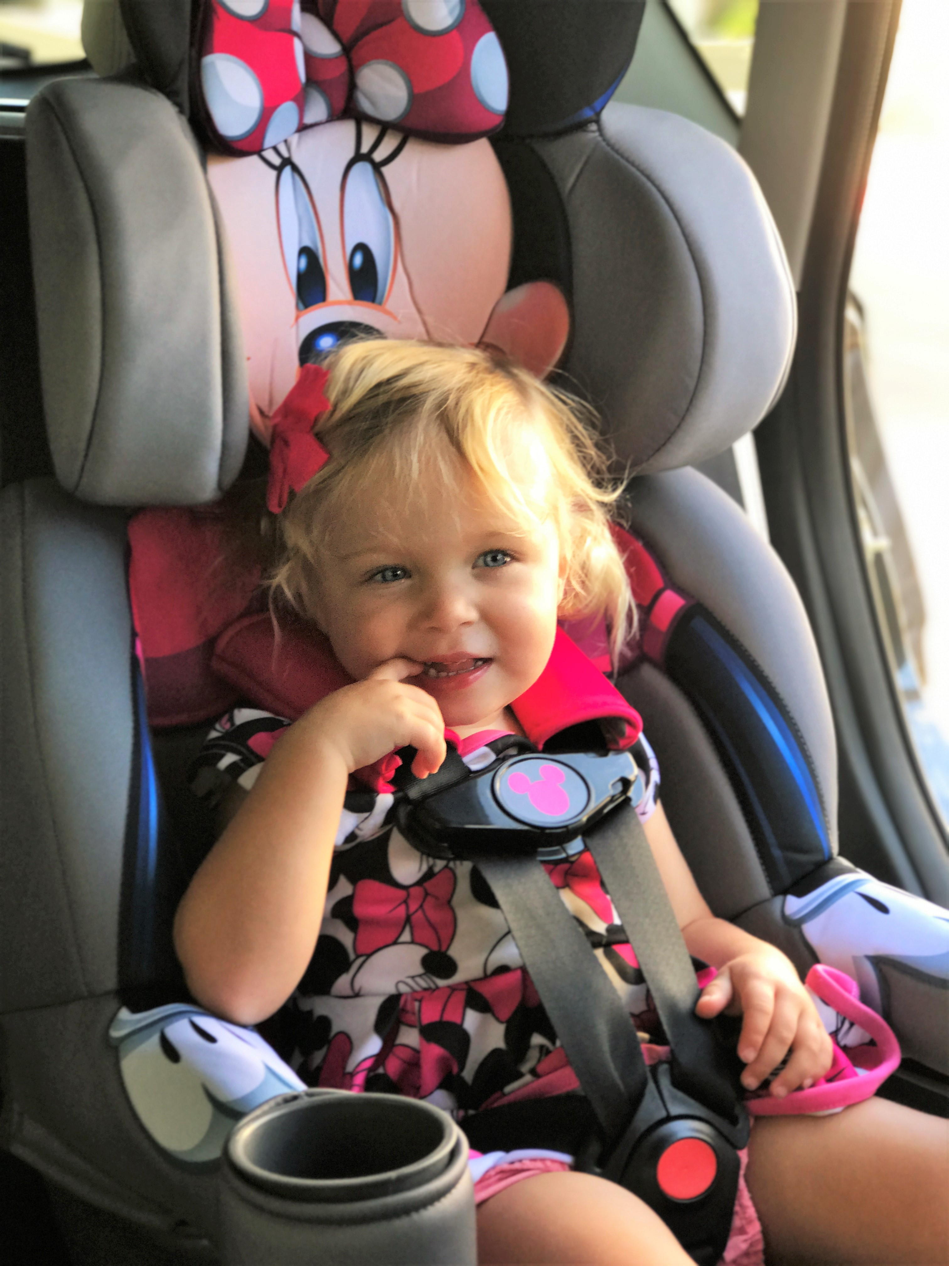 Making Safety Fun With A Minnie Mouse Car Seat