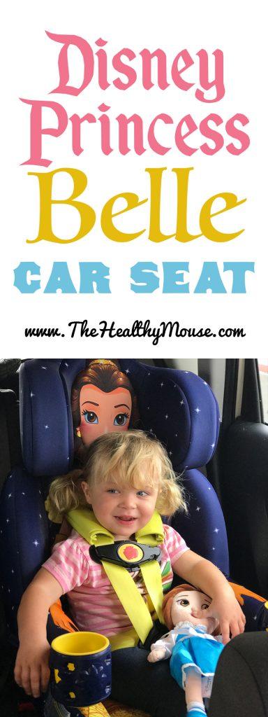 KidsEmbrace Disney Princess Belle Car Seat - The Healthy Mouse