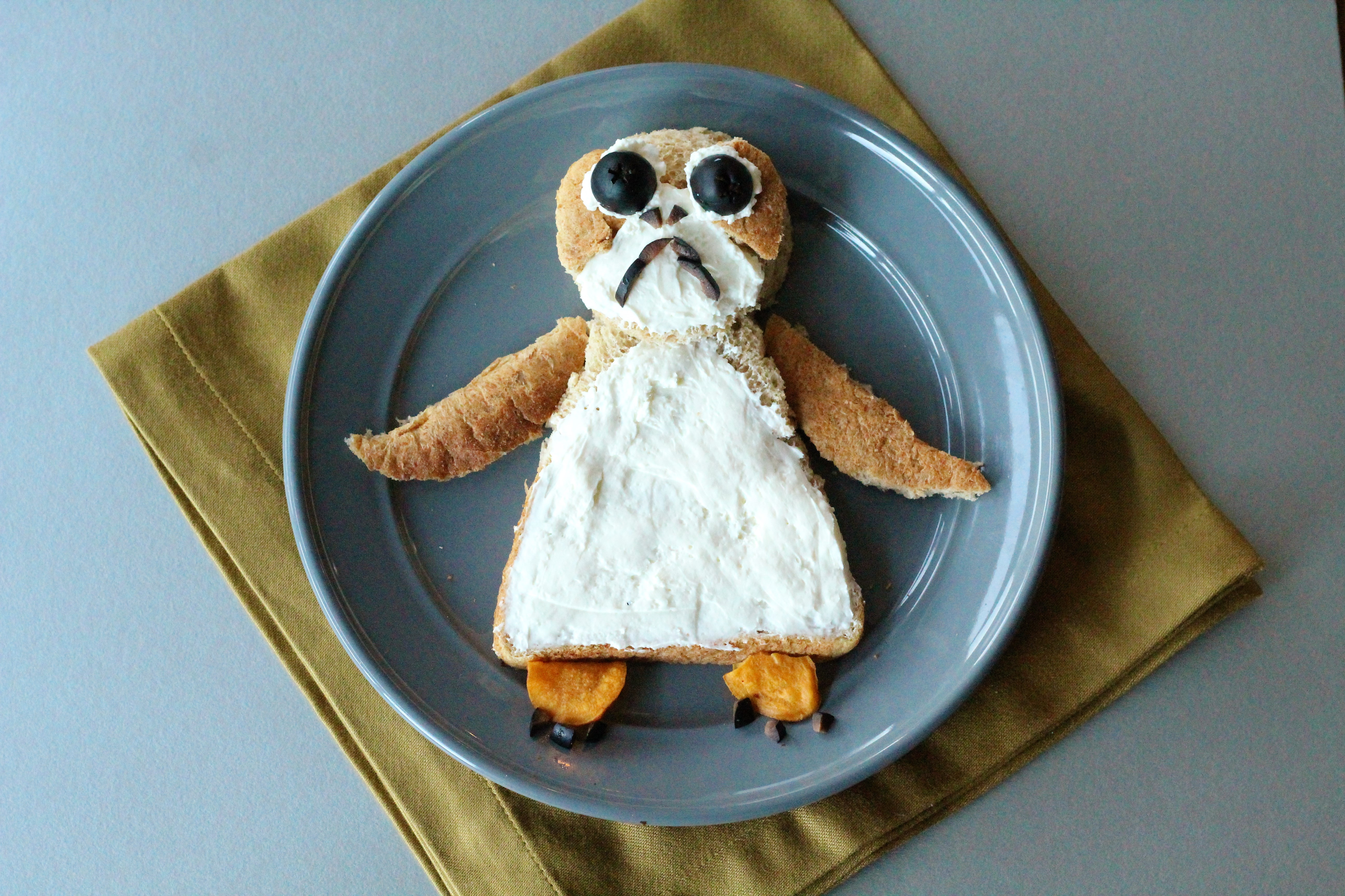 Star Wars Food Art Porgwich The Healthy Mouse