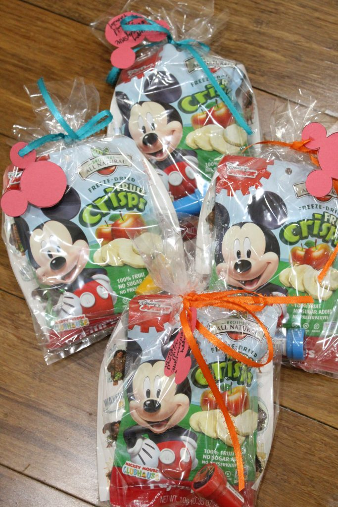 When we got to our room at the end of the night my daughter was so excited to go to our fish extender to see what treasures were left for her! & Disney Cruise Fish Extender Gift Ideas - The Healthy Mouse