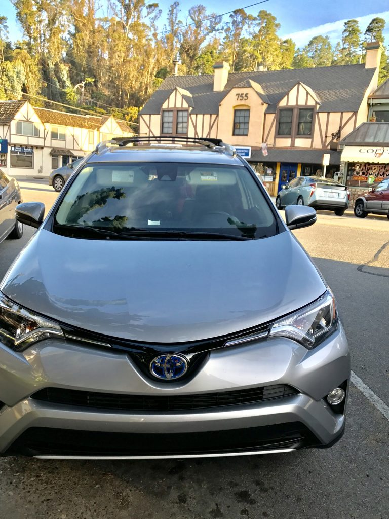 Taking a Road Trip Along PCH in the Toyota RAV4 Hybrid