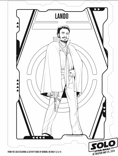 solo a star wars story star wars coloring pages 7 - The Healthy Mouse