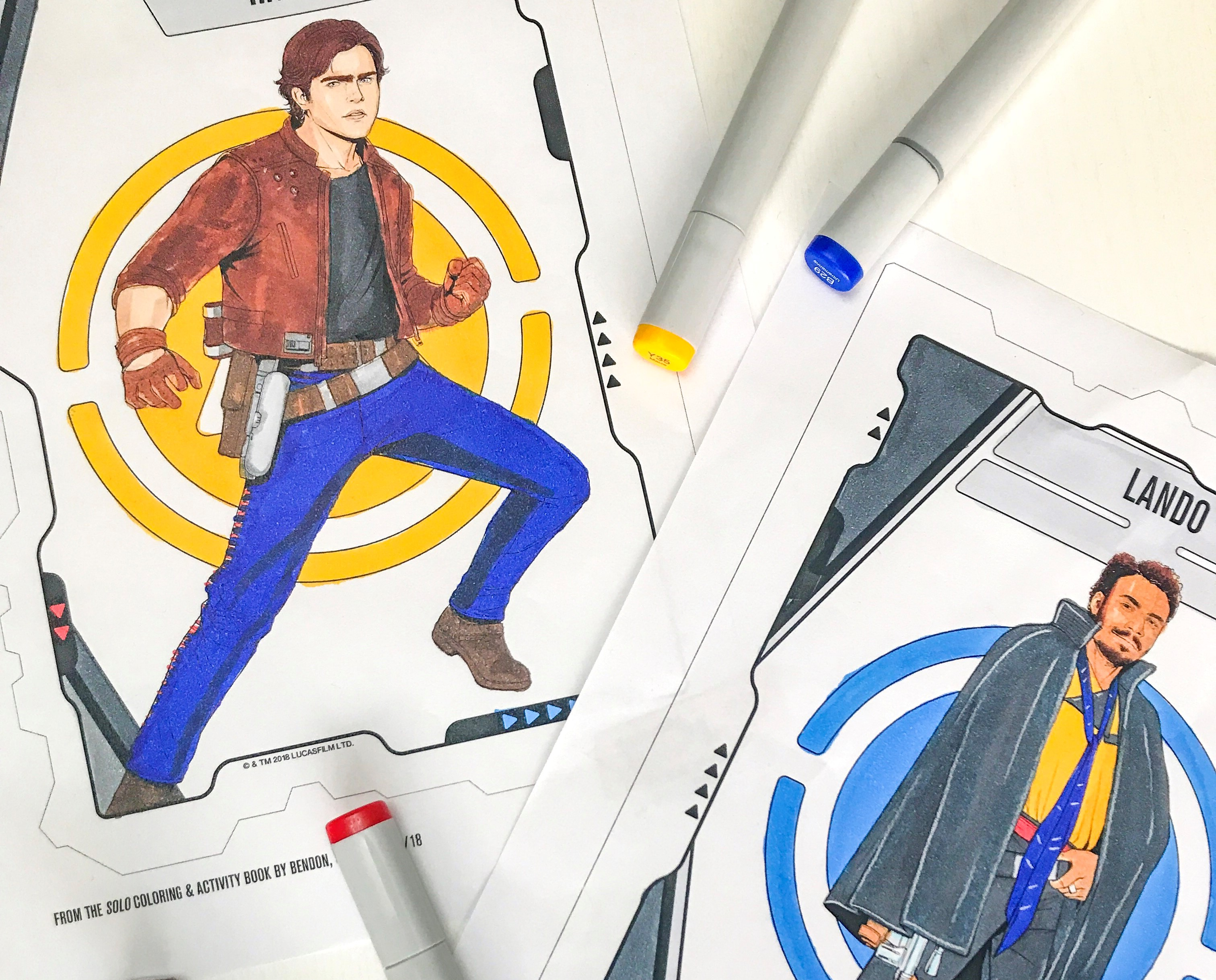 Solo: A Star Wars Story Coloring Pages and Activity Pages - The ...