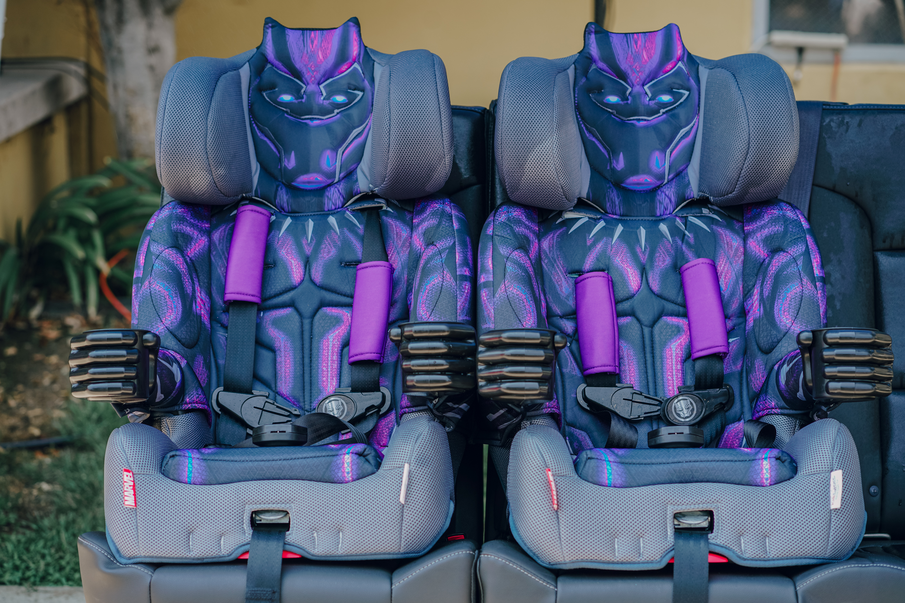 The Worlds First Ever Black Panther Car Seat Plus KidsEmbrace Giveaway