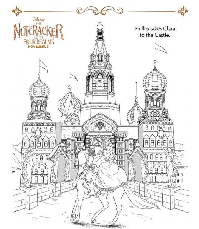 Disney 39 s Nutcracker Coloring Pages and Activity Sheets