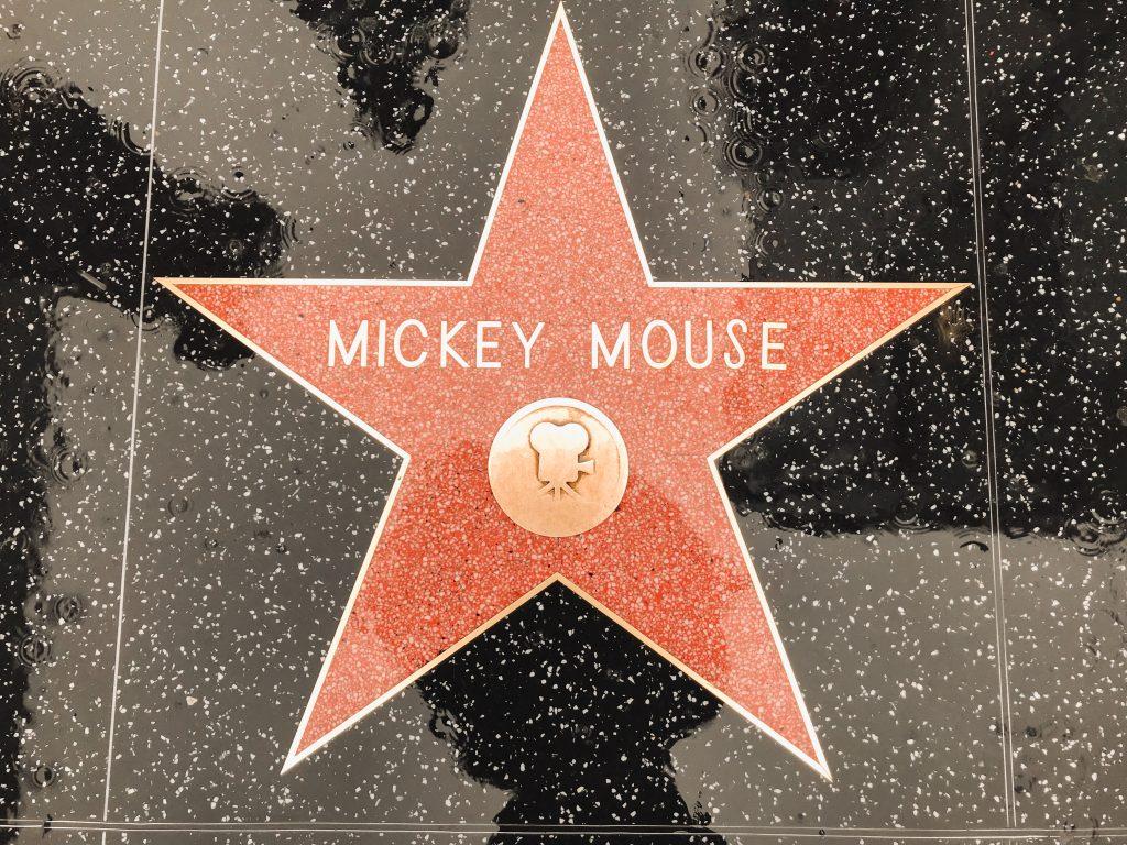 finding disney  hollywood walk of fame