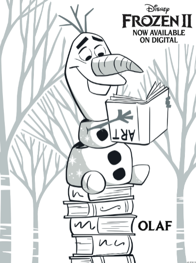- Printable Frozen 2 Coloring Pages Plus Other Frozen Activities At Home!