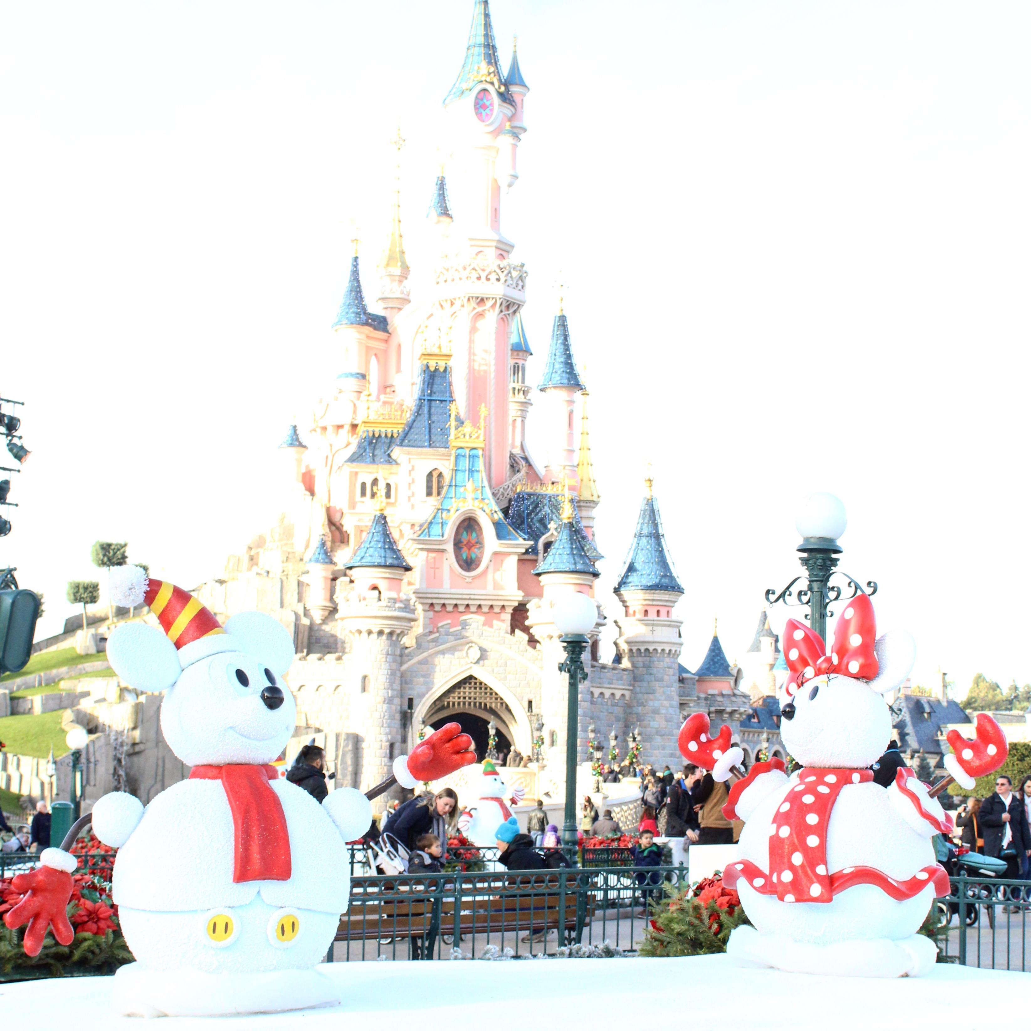 Disneyland Decorated For Christmas: Christmas Decorations Disneyland Paris
