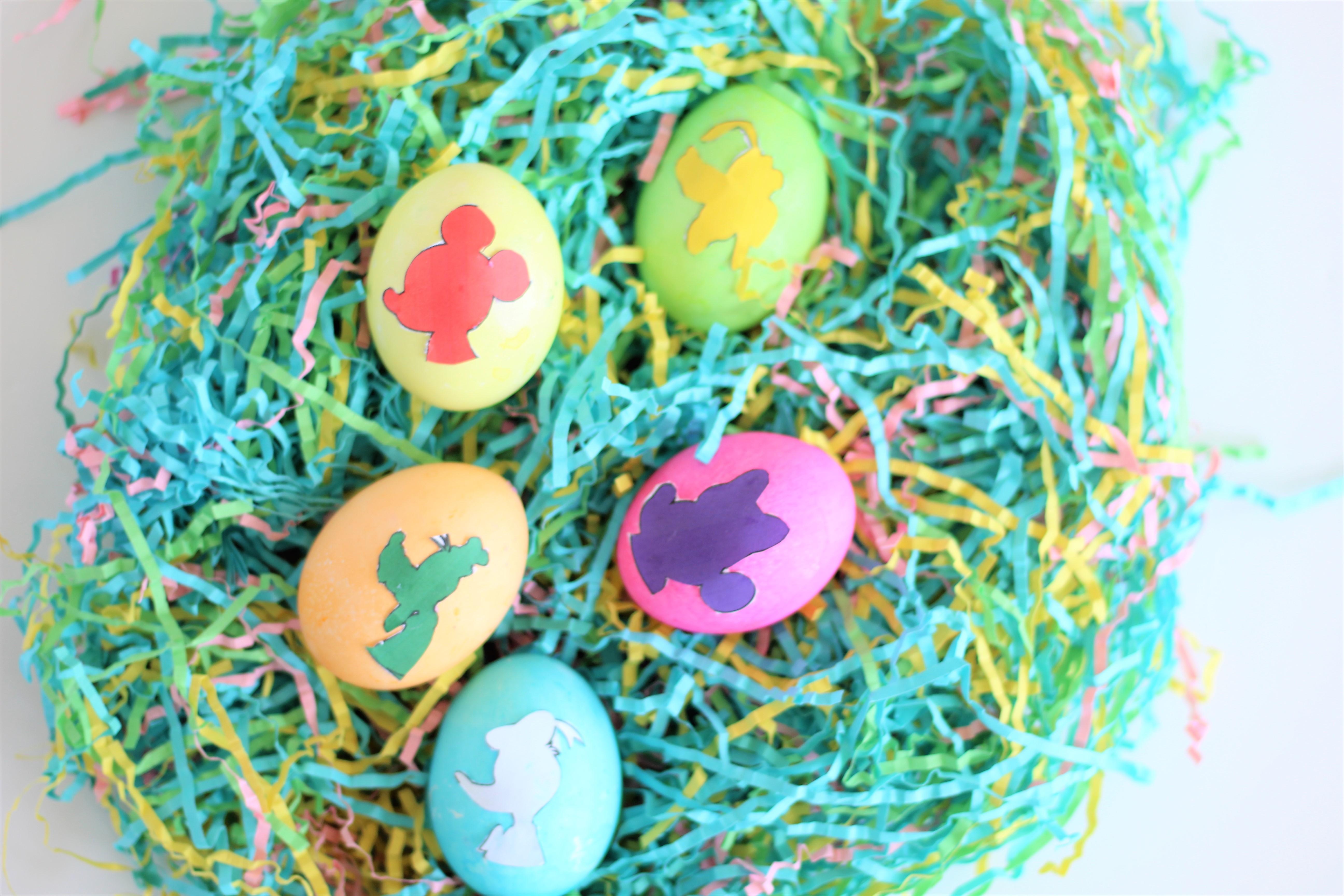 how to make disney easter eggs