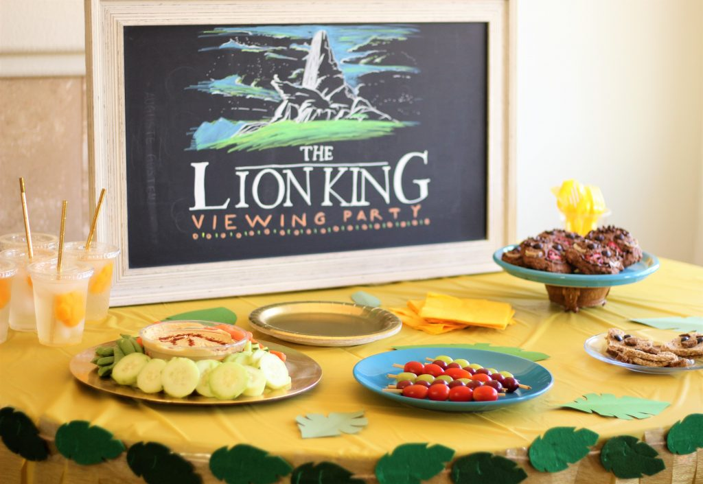 Have A Lion King Viewing Party The Healthy Mouse