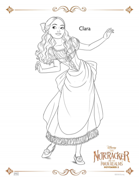Disney's Nutcracker Coloring Pages and Activity Sheets ...