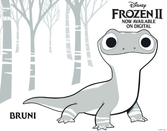 Printable Frozen 2 Coloring Pages Plus Other Frozen Activities At Home